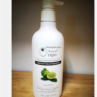 Natural Feminine Hygiene Natural Origin PenangGirl.com